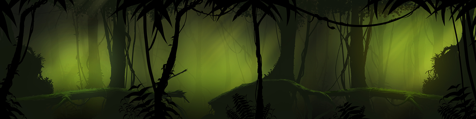 ADHD Forest Game, background concept