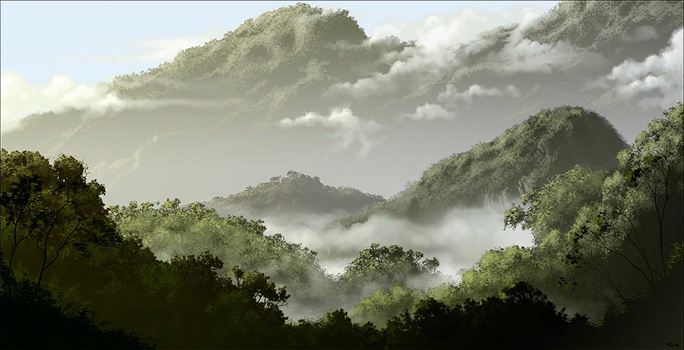 Borneo Highlands, promotional art for Azaya