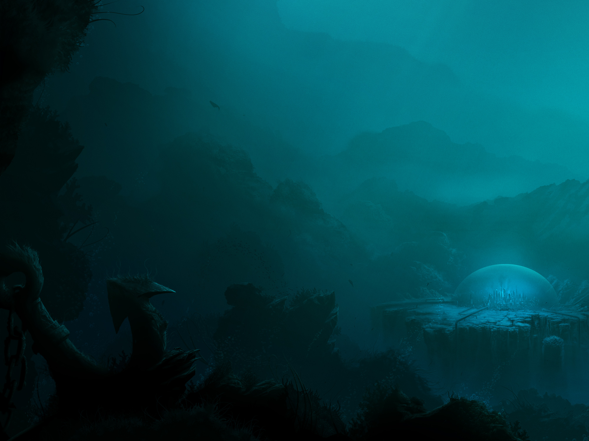 In The Depths, game art