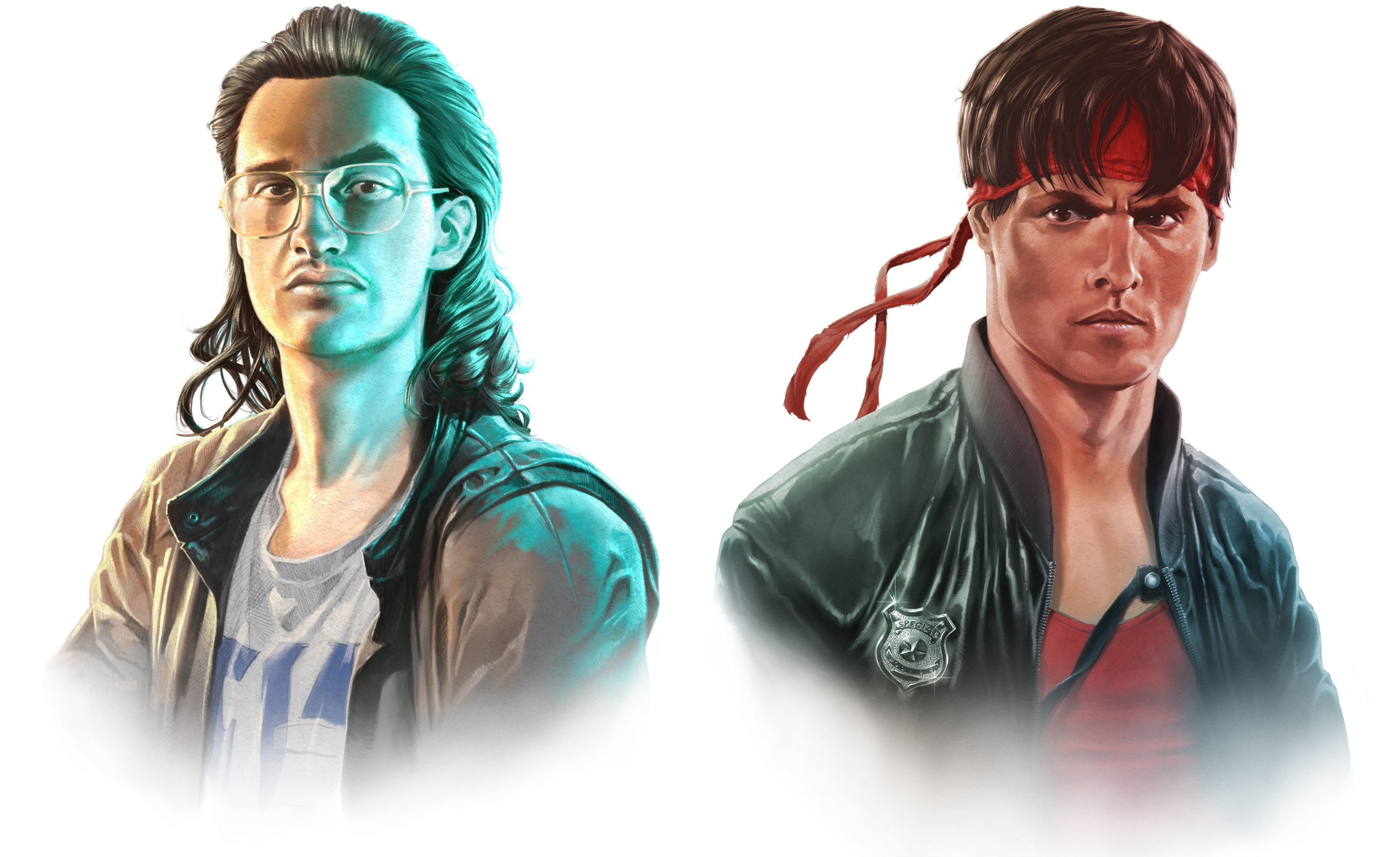 Hackerman and Kung Fury, promotional work for the Kung Fury game