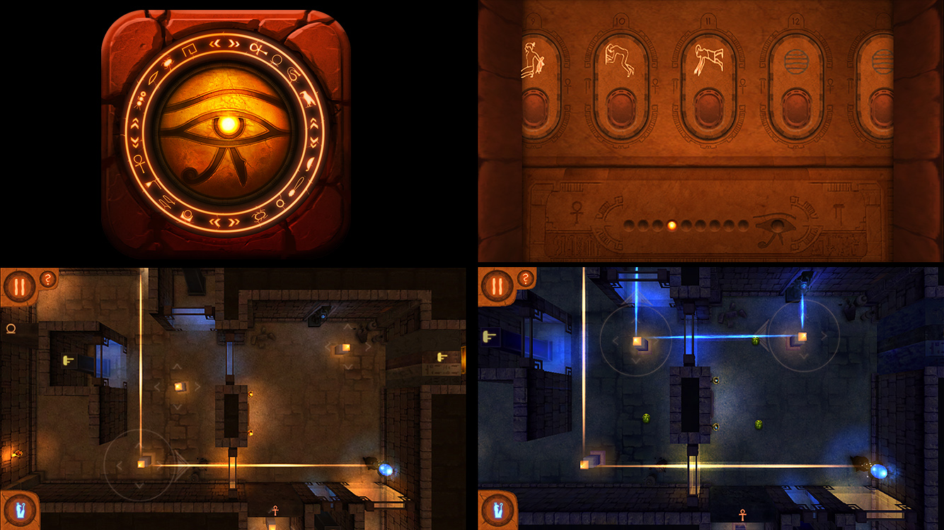 Khaba the game-App Icon and In-game screenshots