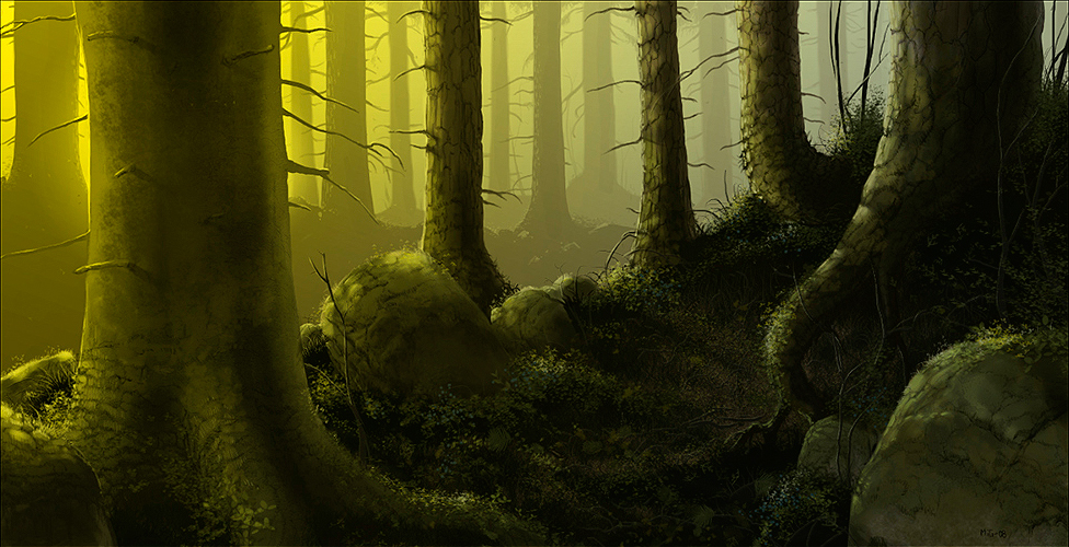 Northen Forest, promotional art for Azaya
