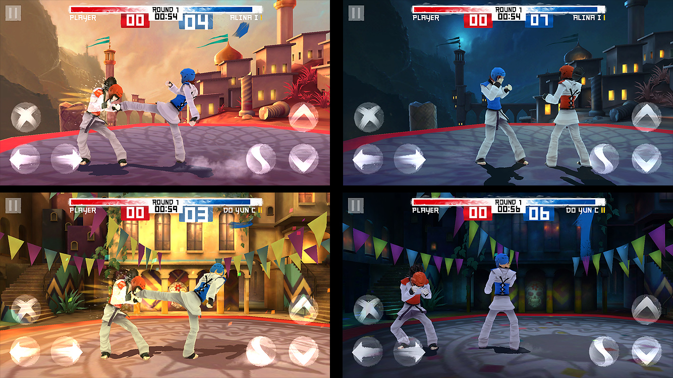 Taekwondo, In-game screenshots