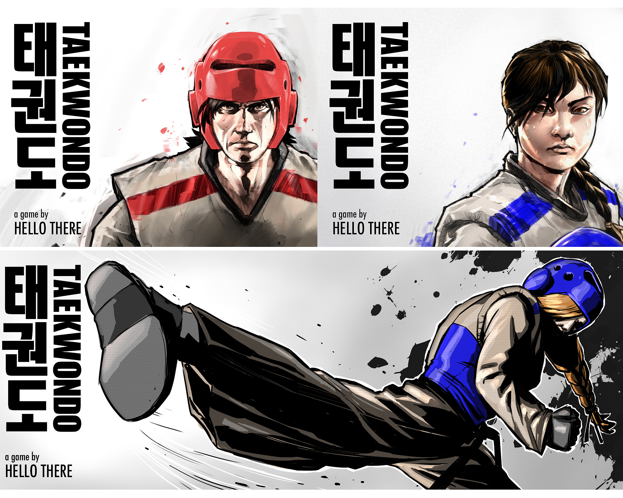 The Taekwondo Game, Global Tournament, promotional work for the mobile Taekwondo game
