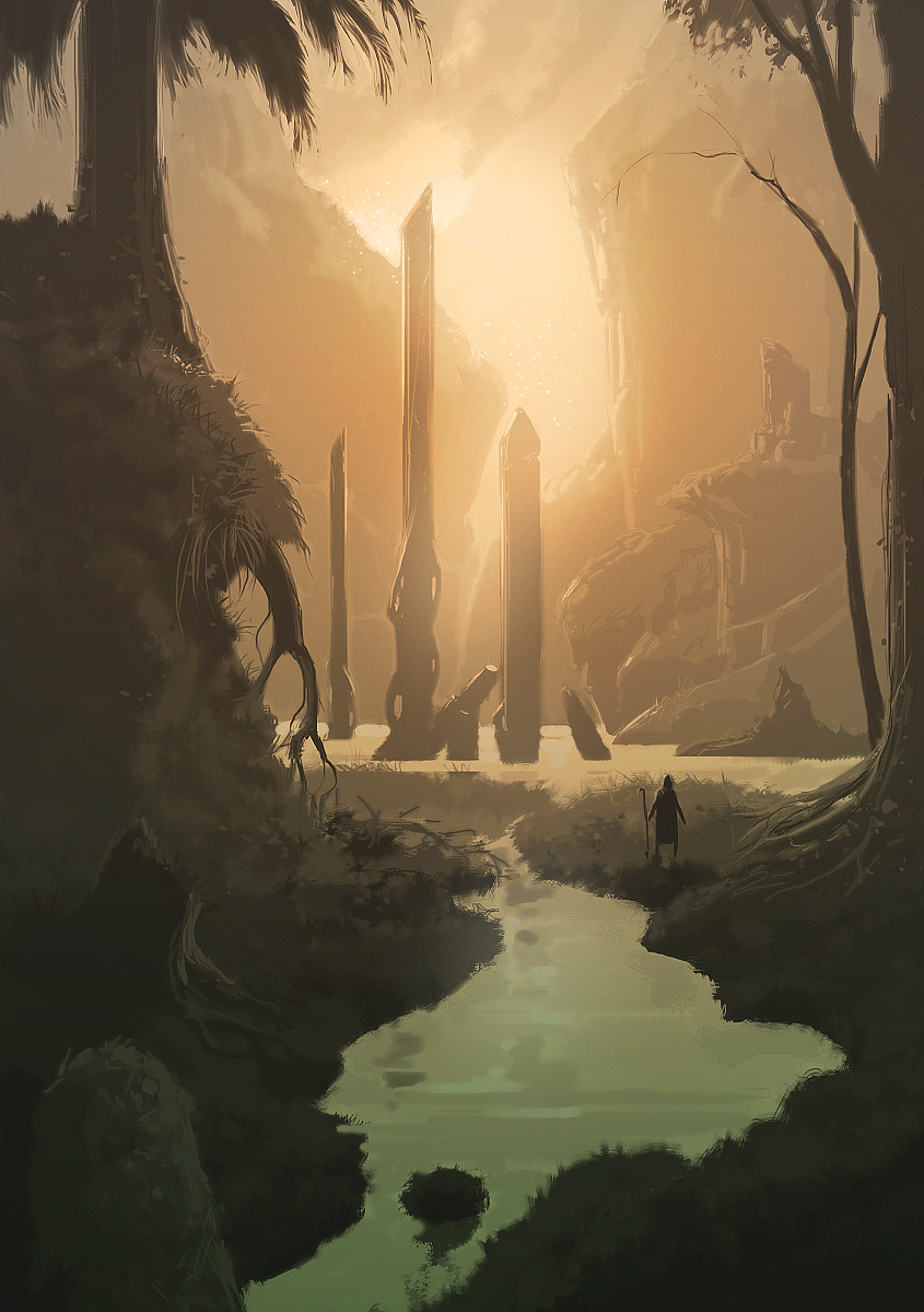 The Lake, concept art for Azaya