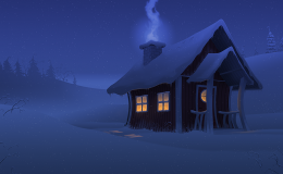 Christmas Night, personal work