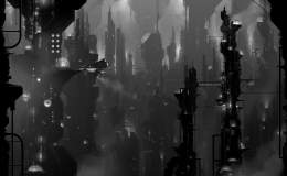 Industrial Future, personal work, Vangelis' Blade Runner Blues recommended while viewing this piece.