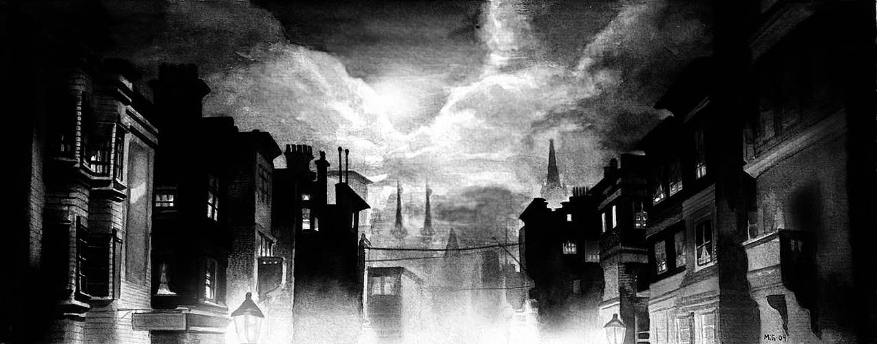 Jack The Ripper, Illustration for the Swedish RPG-magazine Fenix