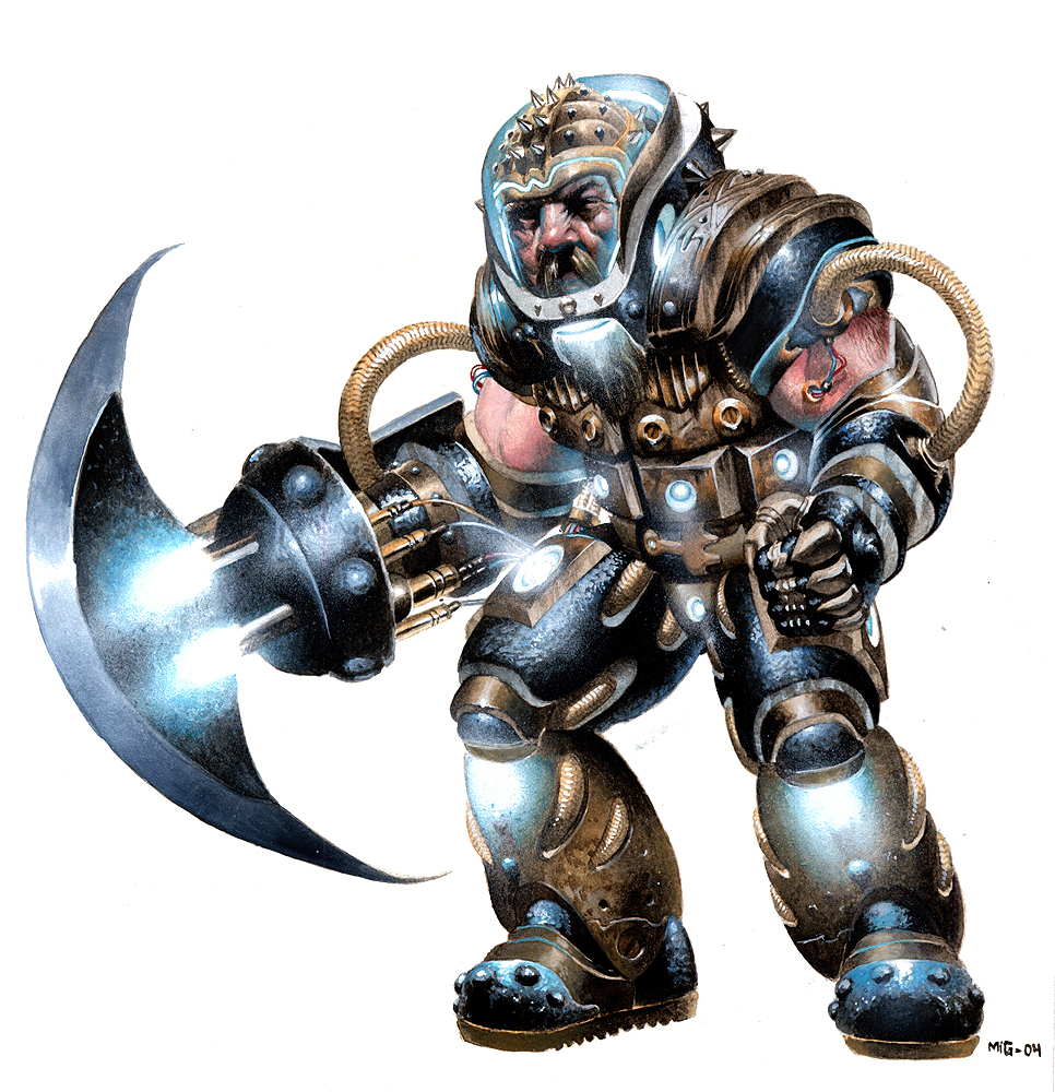 Battle Dwarf, personal artwork