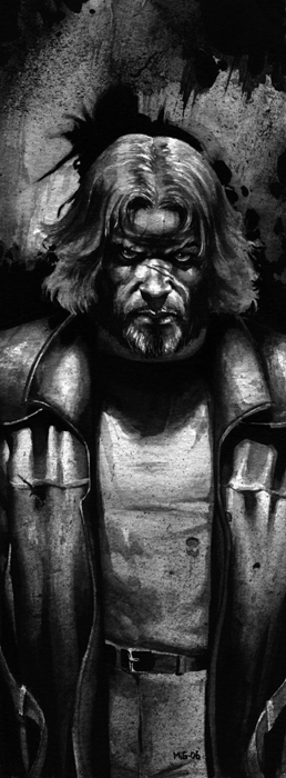 Walian, character illustration for the Swedish RPG Noir